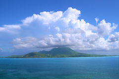 Caribbean island of Nevis Stock Photography