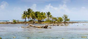 Caribbean Island Panorama Royalty Free Stock Image