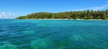 Caribbean island panoramic Stock Photo
