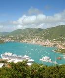 Caribbean island scenery Royalty Free Stock Photo