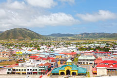 Caribbean island St. Kitts Royalty Free Stock Image