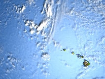 Caribbean islands on planet Earth. Caribbean islands. 3D illustration with detailed planet surface. Elements of this image furnished by NASA Stock Images