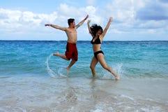 Caribbean Jump Royalty Free Stock Image