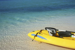Caribbean Kayak Trip Stock Photography