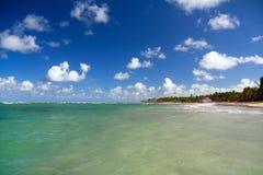Caribbean lagoon Stock Image