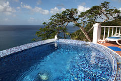 Caribbean Luxury Living Royalty Free Stock Images
