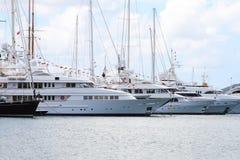 Caribbean Mega Yacht Royalty Free Stock Photo