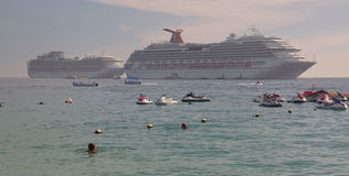 Caribbean, Mexico beach resort Stock Photos
