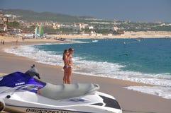 Caribbean, Mexico beach resort Stock Images