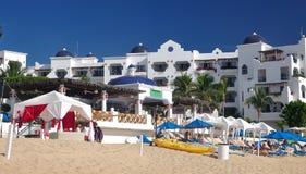 Caribbean, Mexico beach resort Royalty Free Stock Image