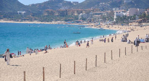 Caribbean, Mexico beach resort Stock Image