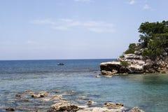 Caribbean Ocean Cove Stock Photography
