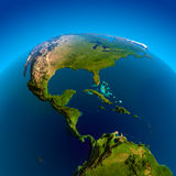 Caribbean, Pacific and Atlantic Royalty Free Stock Image