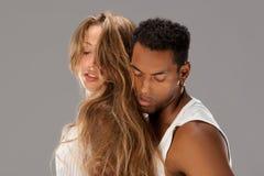 caribbean para tanczy salsa potomstwa Obraz Stock