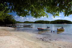 Caribbean Paradise. One of my favorite stpos, very peaceful Royalty Free Stock Photos