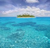 Caribbean paradise Royalty Free Stock Photos