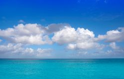 Caribbean perfect turquoise water texture Stock Image