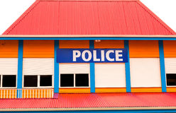 Caribbean Police Stock Photo