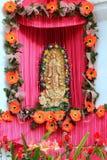 caribbean postać Guadalupe dziewica meksykańska tropikalna Obraz Royalty Free