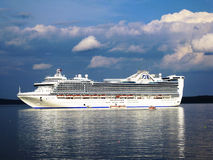 Caribbean princess cruise ship Royalty Free Stock Photography