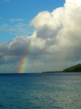 Caribbean Rainbow Stock Photo