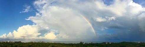 Caribbean Rainbow Sunset Royalty Free Stock Image