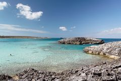 Caribbean Reef. Coral reef with blue caribbean water Stock Photography