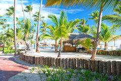 Caribbean resort Royalty Free Stock Images