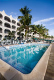 Caribbean Resort. A picture of resort in Caribbean Royalty Free Stock Image