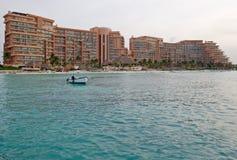 Caribbean Resort Hotel Stock Photo
