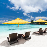 Caribbean resort view Royalty Free Stock Photography