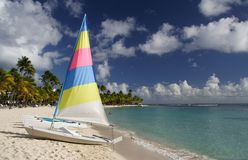 Caribbean Sailing Royalty Free Stock Photo
