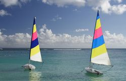 Caribbean Sailing Royalty Free Stock Image