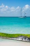 Caribbean Scene,  Sailing Isla Mujeres, Cancun - Riviera Maya. M Royalty Free Stock Images