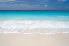 Caribbean sea Royalty Free Stock Photos
