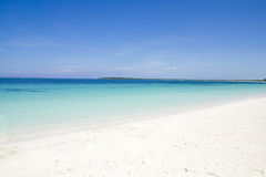Caribbean sea and beach stock images