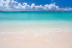 Caribbean sea Royalty Free Stock Photo