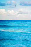 Caribbean sea in Cancun, Mexico Royalty Free Stock Photo