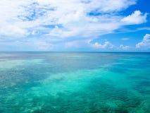 Caribbean Sea at Cayo Largo, Cuba. A paradise island for many tourists Royalty Free Stock Photography