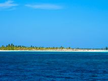 Caribbean Sea - Cayo Largo, Cuba Stock Image