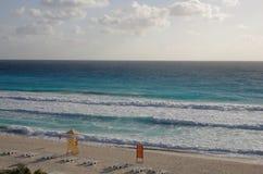 Caribbean sea. The coast of Caribbean sea, Cancun, Mexico Royalty Free Stock Photography