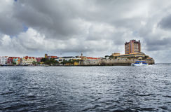 The Caribbean sea. Curacao island Stock Images