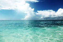 Caribbean sea, Dominican republic Royalty Free Stock Image