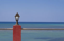 Caribbean Sea. Image of the Caribbean Sea, offshore natural landscape of Cuba, Cuban beach in the small town of Baracoa Royalty Free Stock Image