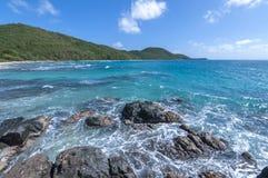 Caribbean Sea of Isla Culebra Stock Photo