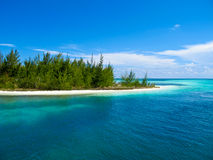 Caribbean Sea - Playa Paraiso, Cayo Largo, Cuba Royalty Free Stock Images
