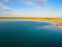 Caribbean Sea at Playa Paraiso, Cayo Largo, Cuba Stock Photography