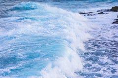 Caribbean sea at Pointe des chateaux stock photos