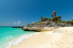 Caribbean Sea scenery Stock Image