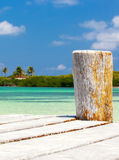 Caribbean sea scenery Stock Images